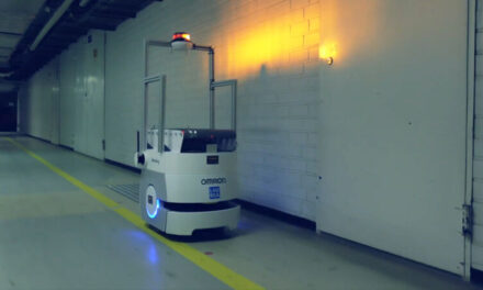 Mobile robot transports waste for Kymenlaakso Central Hospital