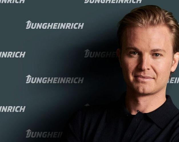 Racing together towards e-mobility and sustainability: Nico Rosberg becomes brand ambassador for Jungheinrich