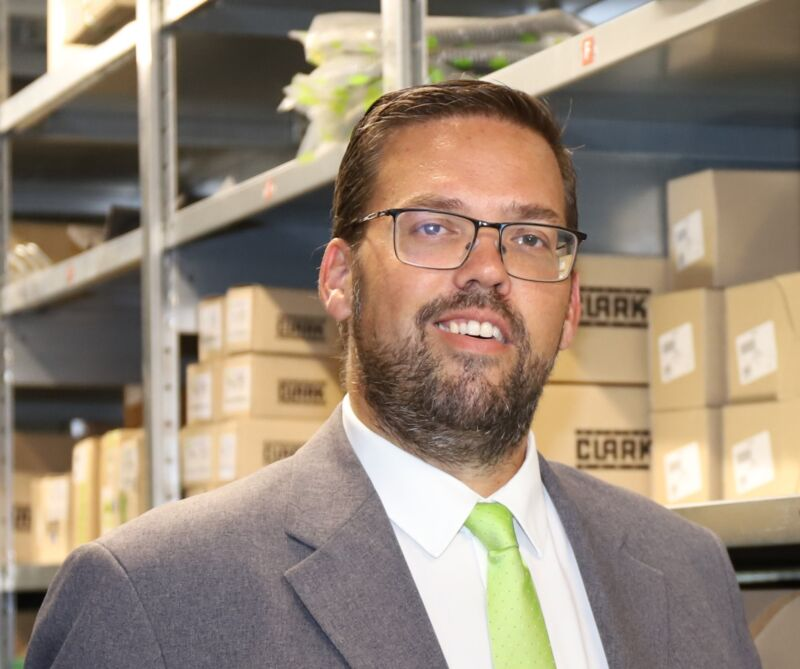 Andy Baldy appointed Director Parts Sales & Admin at Clark Europe
